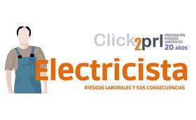 Electricista. Ficha riesgos