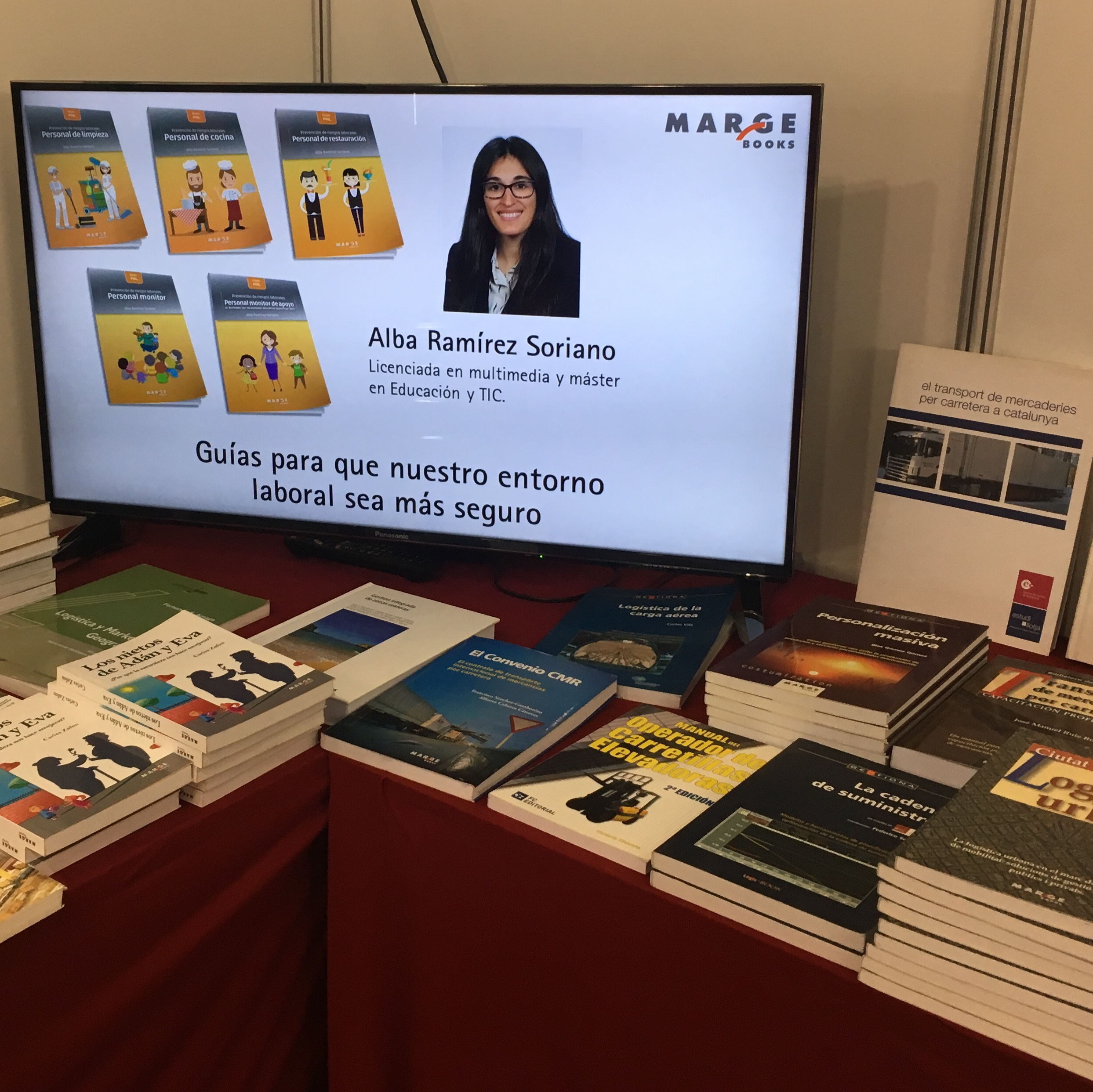 Learnwus + Marge BooksSalón Internacional Logistica SIL 2019