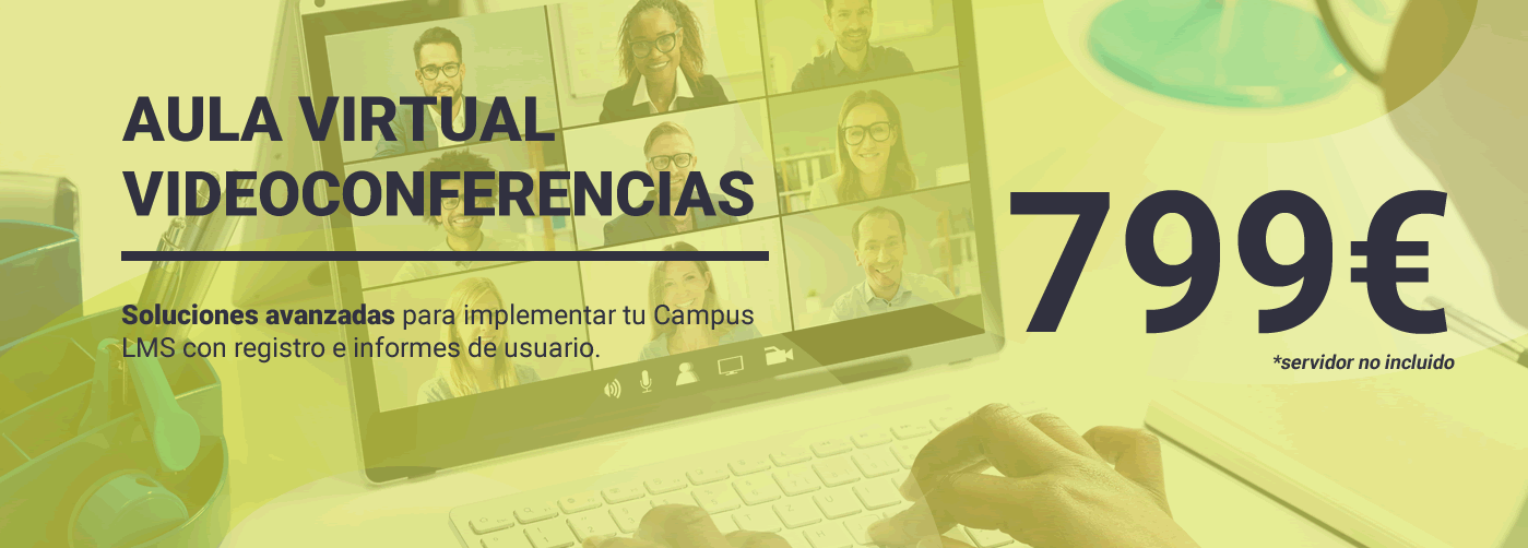 Videoconferencias y registros: Aula Virtual